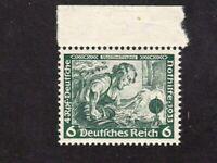 Germany stamp #B52, MNHOG, XF, w/selvage, tiny glue scuff, 1933, SCV $15.00