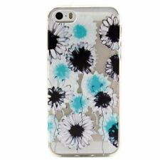 TPU Gel Cover for Apple iPhone 6S Plus 6 Transparent Pattern Protector Case *UK*