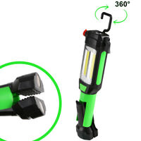 Magnetic LED COB Inspection Lamp Work Flashlight Light USB Rechargeable Torch