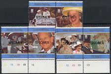Tuvalu 1997 SG#791-6 Golden Wedding Optd Specimen MNH Set #A86221