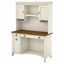white hutch desks for sale ebay rh ebay com white desk hutch dorm white desk hutch only