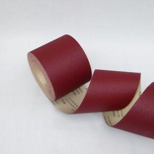 Schleifrolle Schleifpapier mit od ohne Klett 115mmx25m Rollenschleifpapier Rolle