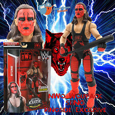 WWE Mattel Elite Ringside Exclusive nWo STING - Wrestling - Wolfpac Figur WCW