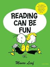 Reading Can Be Fun by Munro Leaf c2004, NEW Hardcover