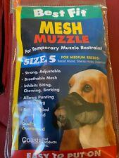 "Best Fit Cloth Dog Muzzle size 5 (7"") Bassett Siberian Husky Doberman"