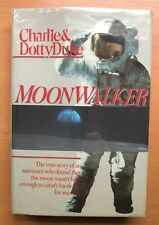 Moonwalker inscribed signed by both Charlie and Dotty Duke Apollo 16 HC