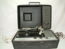 Portable Record Player Turntable - PHILCO FORD - Solid State