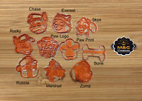 Paw Patrol Cookie Cutter stamp Fondant Cake Decorating Mold