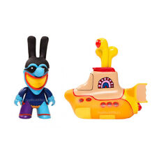 "Beatles Titans Yellow Submarine Blue Meanie 3"" Glow In The Dark Figure Set of 2"