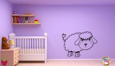 Wall Sticker For Kids Baby Lamb Cool Decor for Nursery Room z1405