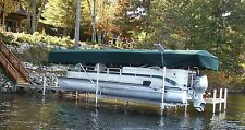 Replacement Canopy Boat Lift Cover Hewitt 20x110 Flat