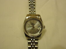 Raton Watch Analog Dress Metal Female Adult Silvers Solid