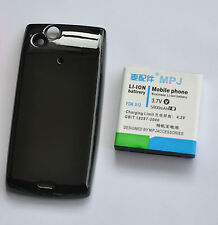 MPJ 5000MAH Extended Battery +door back cover  For Sony Ericsson Xperia Arc X12