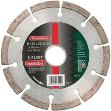 """Metabo 624307000 125mm / 5"""" Diamond Angle Grinder Cutting Disc"""