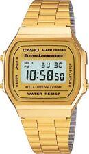 New Casio Gold A168WG-9 Digital Alarm Unisex Watch A168 / A168WG Eliminator