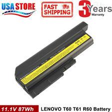 6/9Cell Battery for IBM Lenovo ThinkPad T61 T61p T60 R61 R61i R60 T500 W500 R500