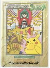 Japanese Pokemon 1998 Bandai Jumbo Carddass Part 2 - No22 SABRINA, ALAKAZAM +