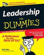 NEW Leadership For Dummies by Kris Cole