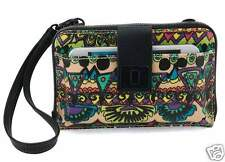 NWT Sakroots Smartphone Wristlet Wallet Crossbody Radiant One World SHIP INT