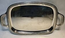 ALESSI large vintage serving plate servierteller dienblad plateau +- 56x34cm