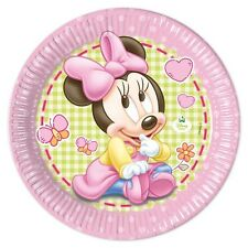 Minnie Baby Partyteller im 8er Pack, 23cm