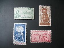 AEF Afrique Equatoriale Française N° PA 10 à 13     neuf *    voir photo