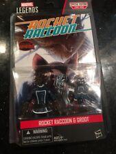 "Marvel Universe Groot & Rocket Racoon 4"" Figure 2-Pack 2015 Hasbro MOC Guardians"