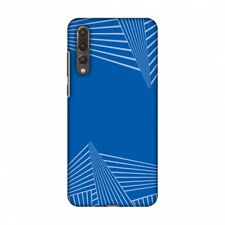 AMZER Carbon Fibre Coral Blue 3 Hard Plastic Cover Slim Printed Snap On Case