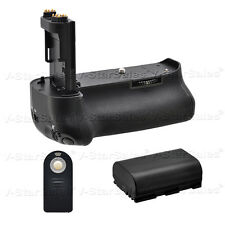 Battery Grip for Canon EOS 5D Mark III + LP-E6 Replacement Battery + Remote