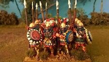28mm Spartan Greek Hoplites 12x figures PAINTED Wargames Foundry