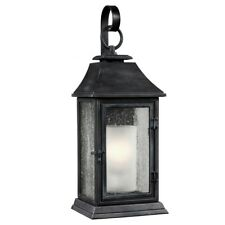 Feiss Shepherd Large Wall Lantern 1 x 75W E27 220-240v 50hz IP44