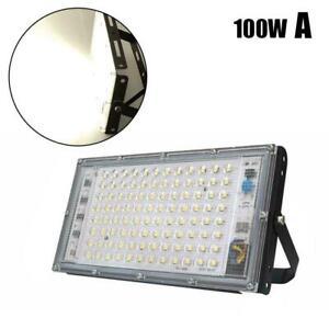 LED Floodlight 100W Outdoor Super Bright Security Waterproof Hot Sale AU Y3U5