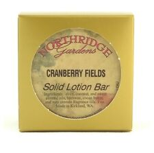 Northridge Gardens Cranberry Fields Solid Lotion Bar 1oz