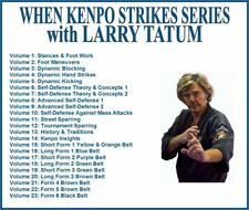 KENPO KARATE Training Series (23) DVD Set footwook stances self defense kicking