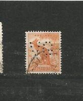 Perfins Perfin Australien  Stamps Briefmarken Sellos Timbres
