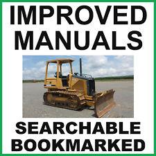 John Deere 450h 550h 650h Crawler Dozer Repair Technical Service Manual Tm1744