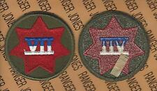 US Army 7th VII CORPS dress uniform patch m/e