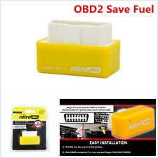Mini OBD2 Plug and Drive OBD2 Performance Chip Tuning Box Saver Gas/Petrol Tool