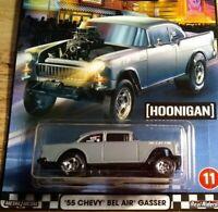 2020 Hot Wheels Premium Boulevard  '55 Chevy Bel Air Gasser Hoonigan