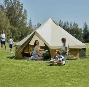 Ozark Trail Olive Green Waterproof Yurt Tent 8 Person Summer Family Camping 🏕
