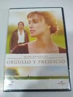Orgullo y Prejuicio Keira Knightley Matthew Macfadyen - DVD Nuevo