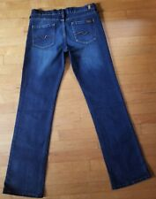 7 For All Mankind Women's Boot Cut Stretch Dark Blue Jeans Size 29