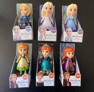 Disney Princess Frozen 2 Mini Toddler Doll Queen Anna Snow Queen Elsa Adventure
