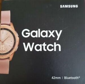 SAMSUNG GALAXY WATCH SM-R810 42MM - ROSE GOLD**