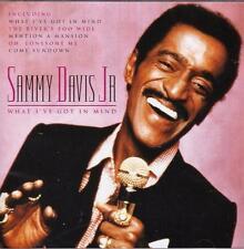 SAMMY DAVIS JR  - WHAT I'VE GOT IN MIND (NEW SEALED CD)