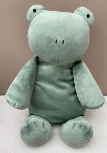 Jellycat Dozydou Frog Soft Toy Comforter Medium Green Squidgy Lying Sitting