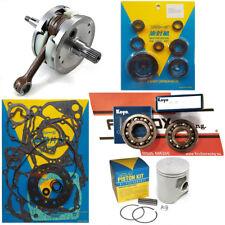Honda CR250 2002-2004 66.35mm Mitaka Engine Rebuild Kit Inc Crank Piston Gaskets