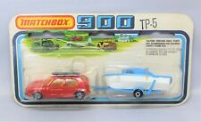 Matchbox Superfast No7 VOLKSWAGEN GOLF TP5 TWINPACK RED with FROSTED AMBER GLASS