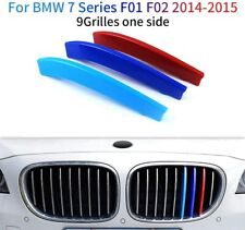 for BMW 7 Series F01 F02 14-15 Front Grille Grill Cover Insert Trim (9 Grilles)