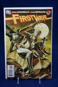First Wave #1 DC Comic